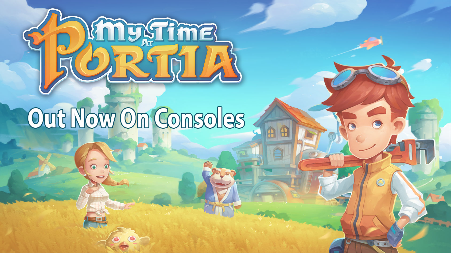 My Time At Portia – Out Now On Consoles!