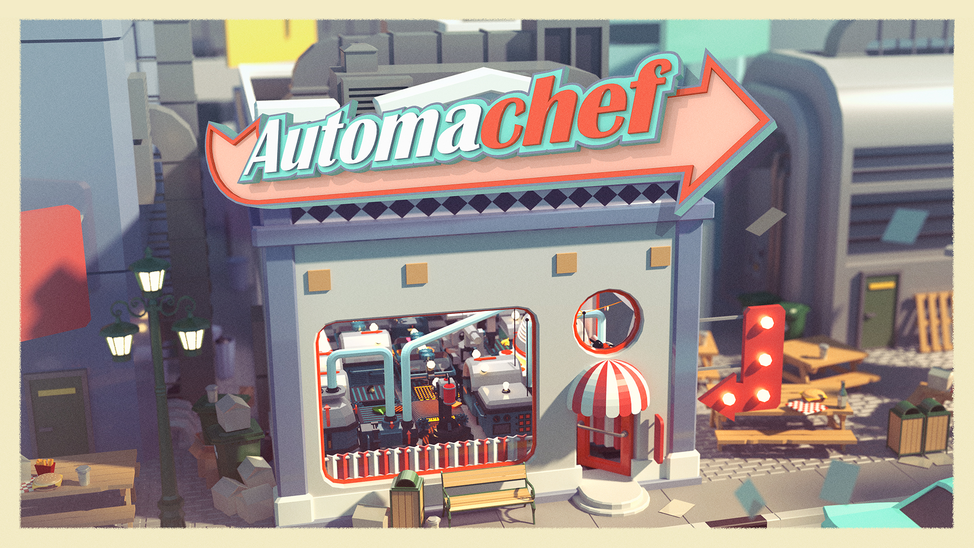 Automachef Release Date & Demo Announcement!