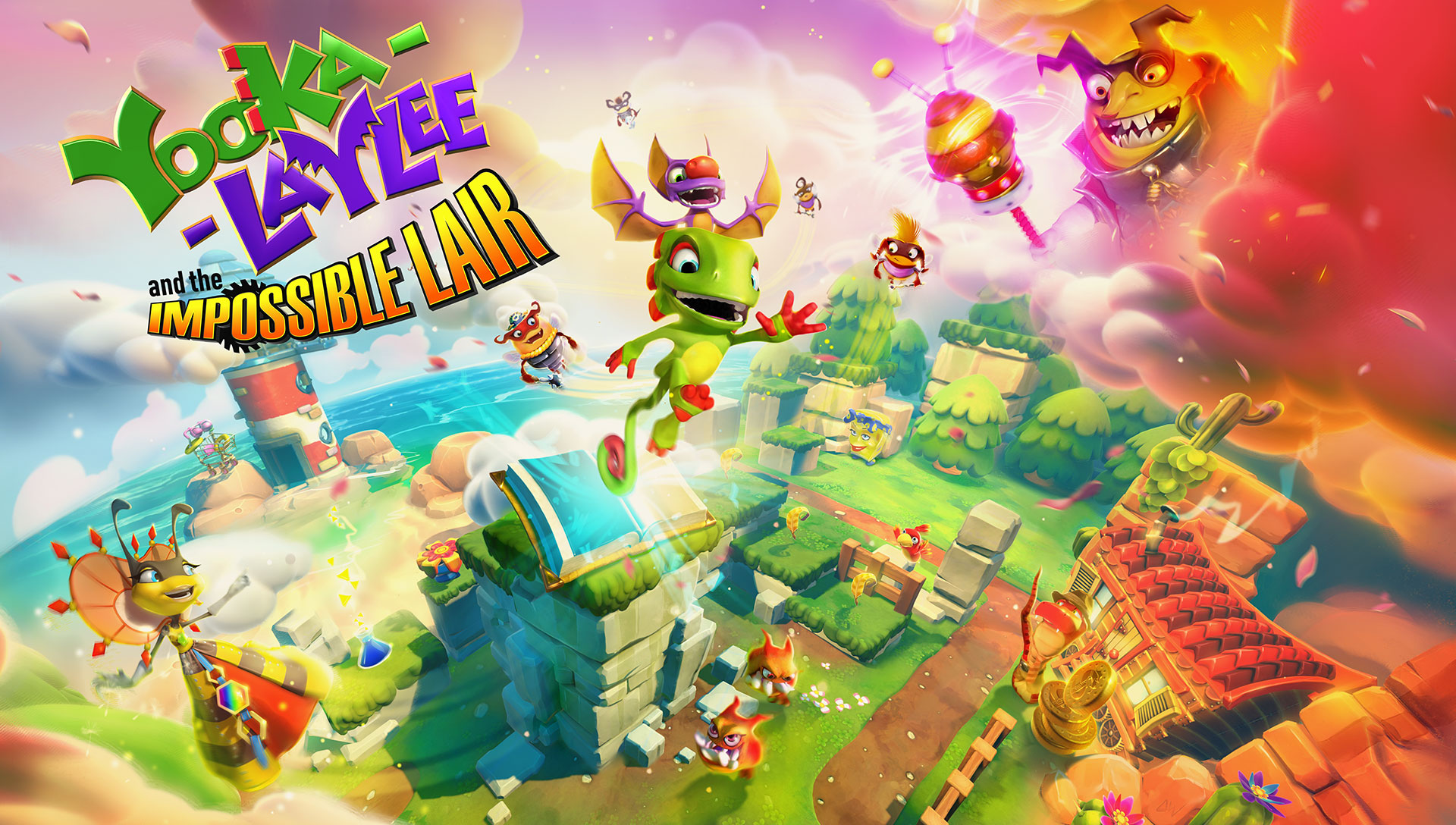 Introducing Yooka-Laylee and the Impossible Lair!
