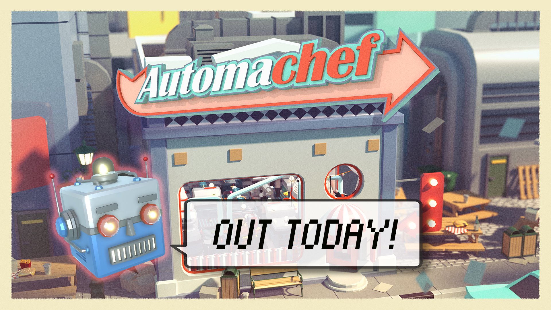 Automachef – Out Now on Nintendo Switch and Steam!