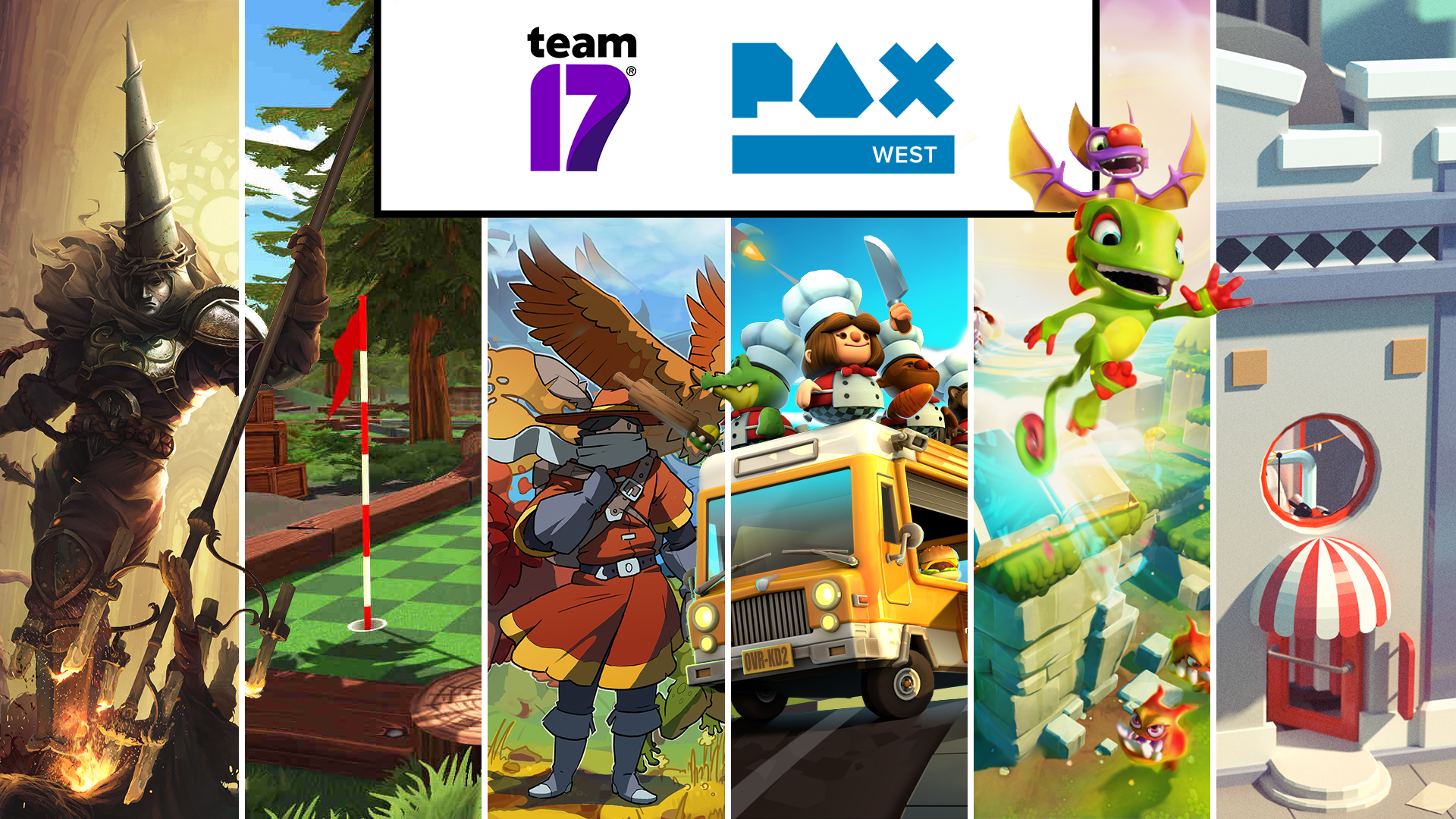 Team17 Heads To PAX West – Game Line Up And More!