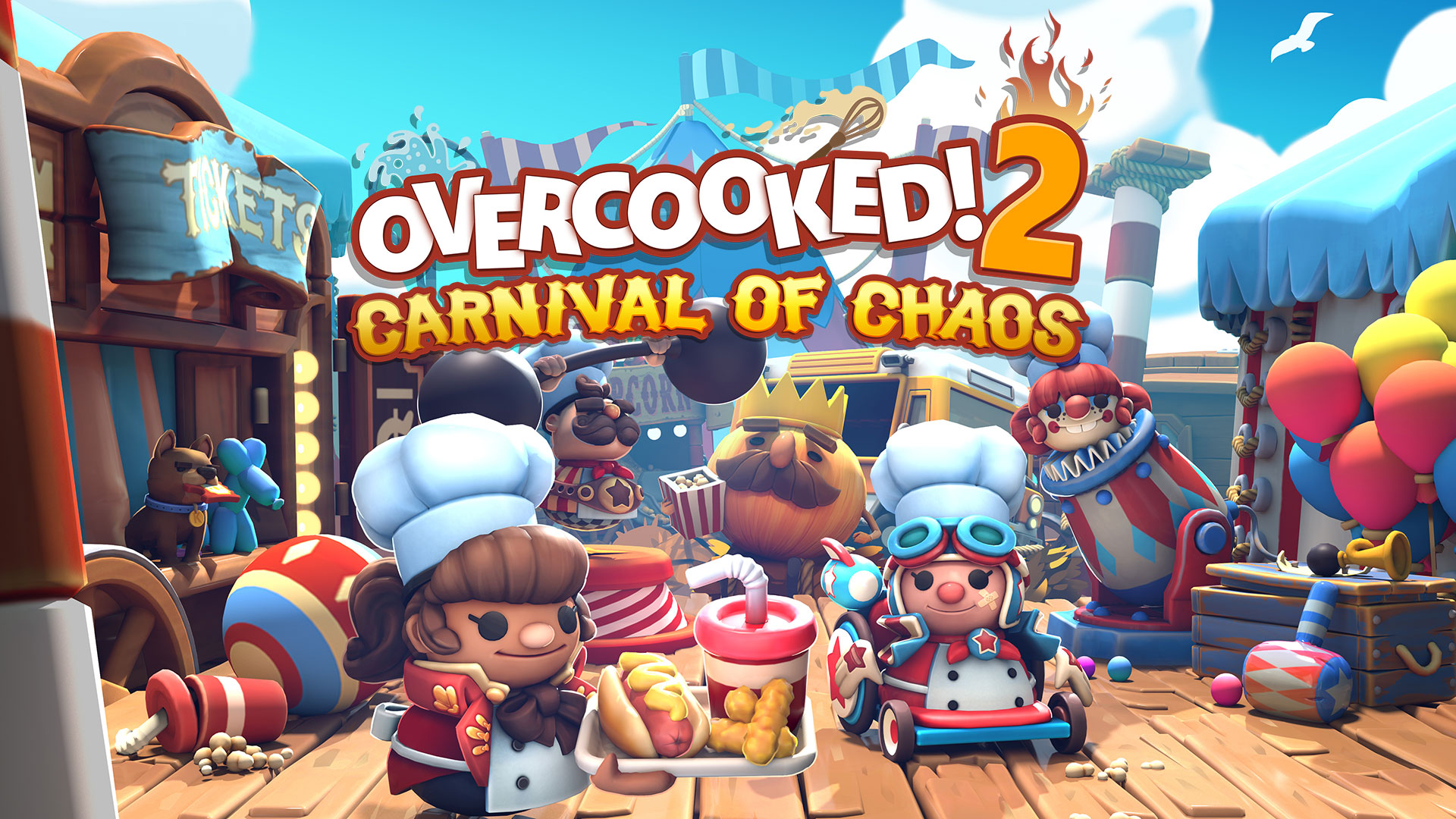 Overcooked! 2 – Introducing the 'Carnival of Chaos' DLC!