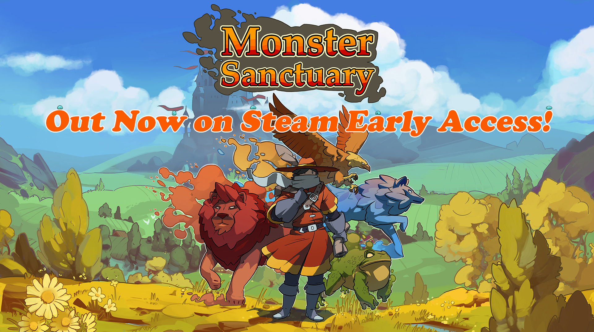 Monster Sanctuary – Out Now on Steam Early Access!