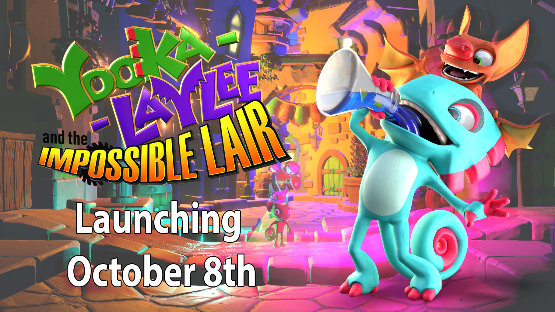 Yooka-Laylee and the Impossible Lair – Release Date Announcement!