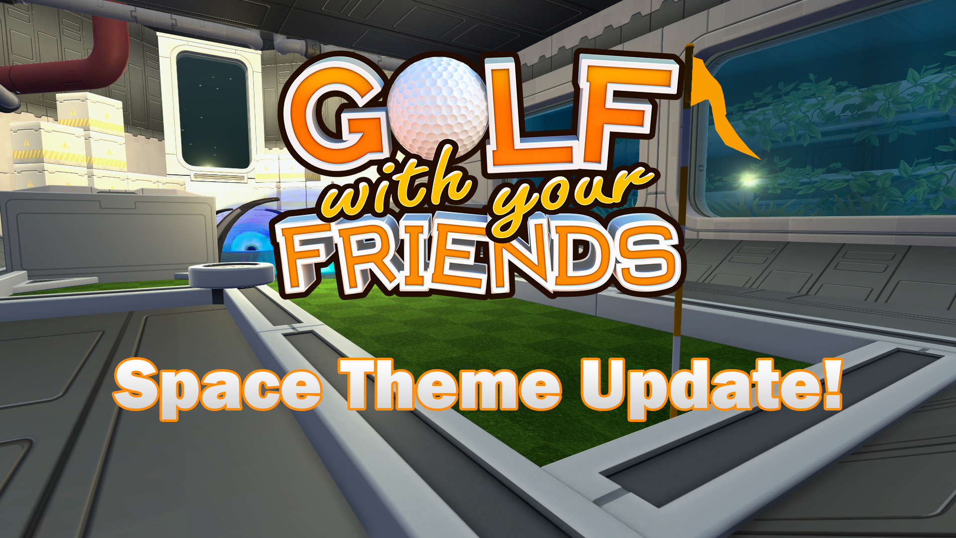 Golf With Your Friends Space Theme Update