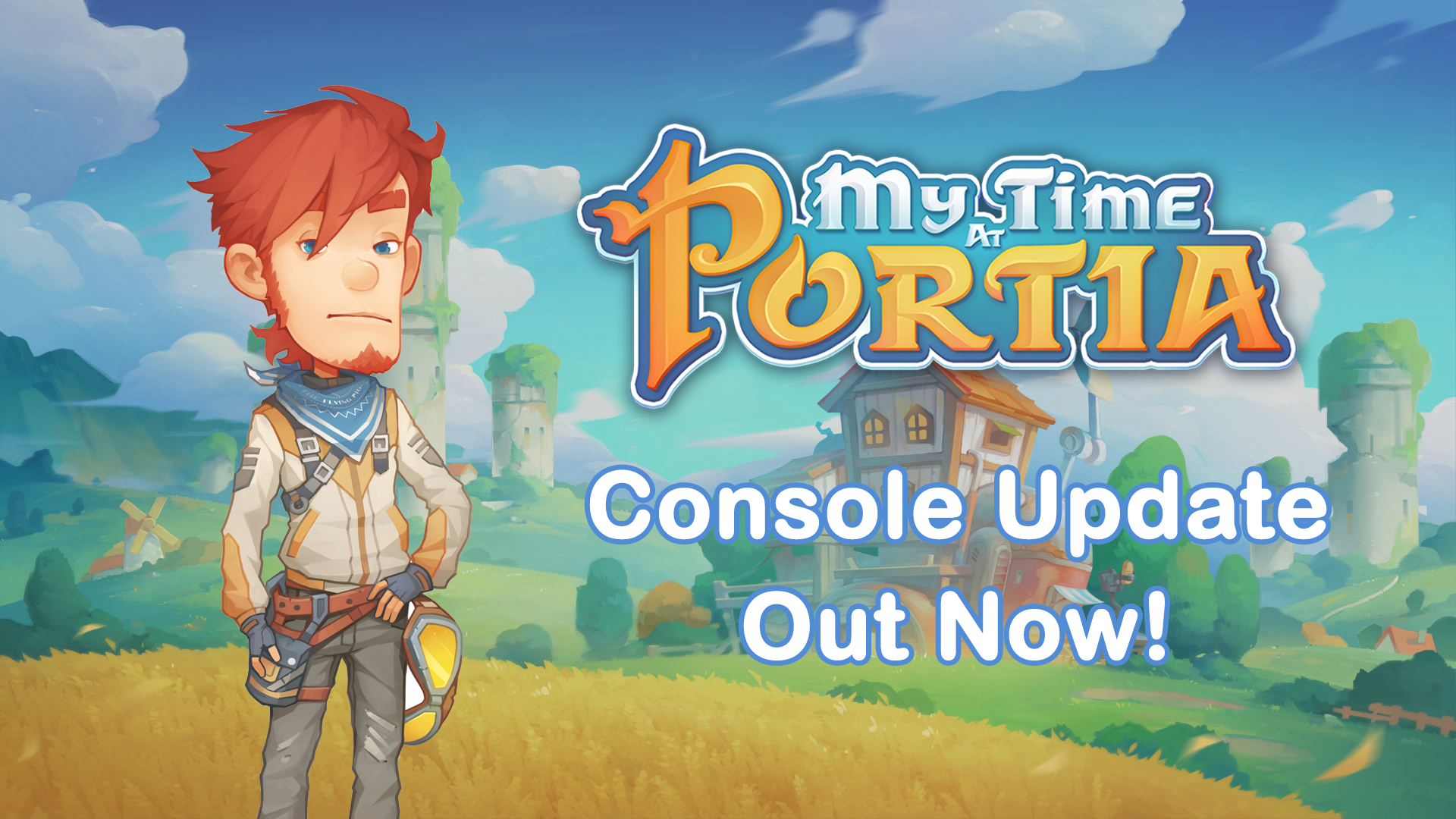 My Time At Portia – PlayStation 4, Xbox One and Nintendo Switch Update!
