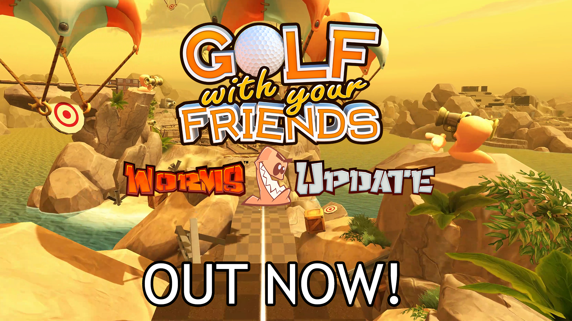 The Worms come to Golf With Your Friends – Update Live Now!