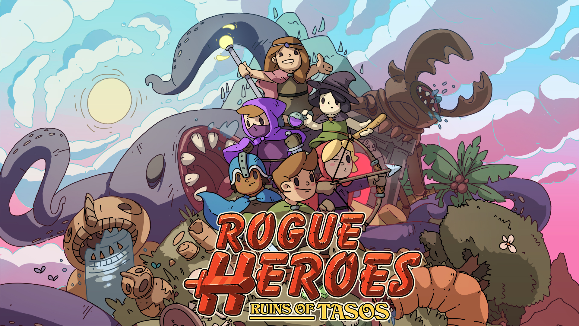 Introducing Rogue Heroes: Ruins of Tasos!