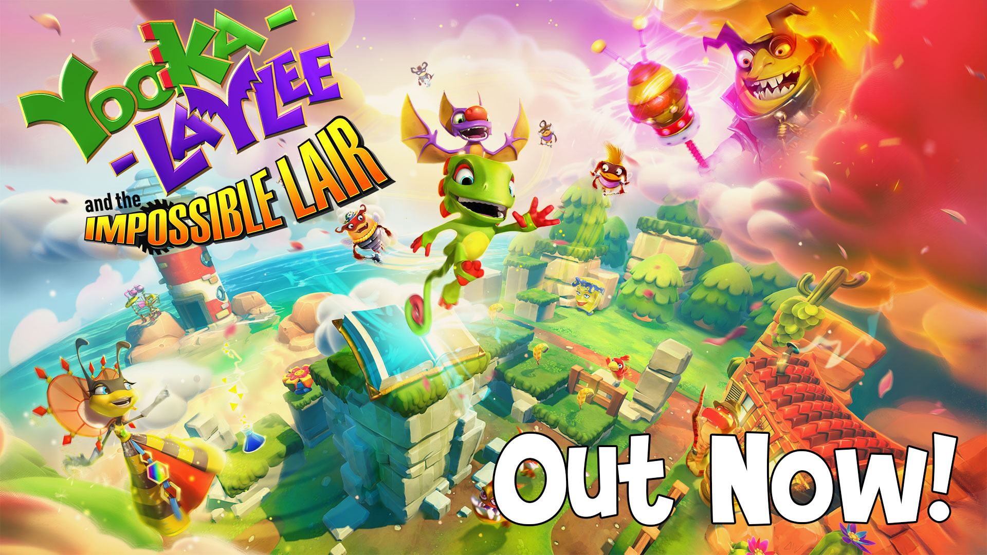 Yooka-Laylee and the Impossible Lair – Out Today!
