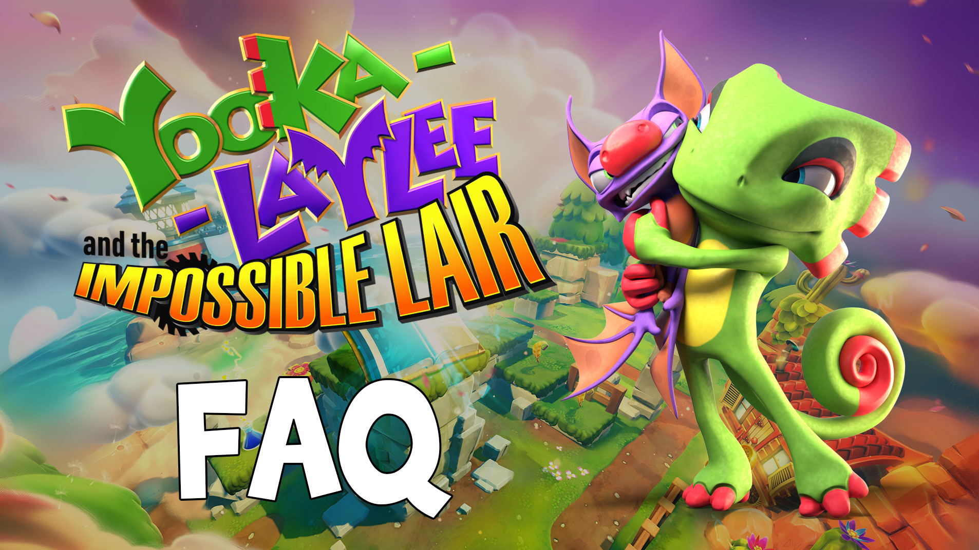 Yooka-Laylee and the Impossible Lair – FAQ