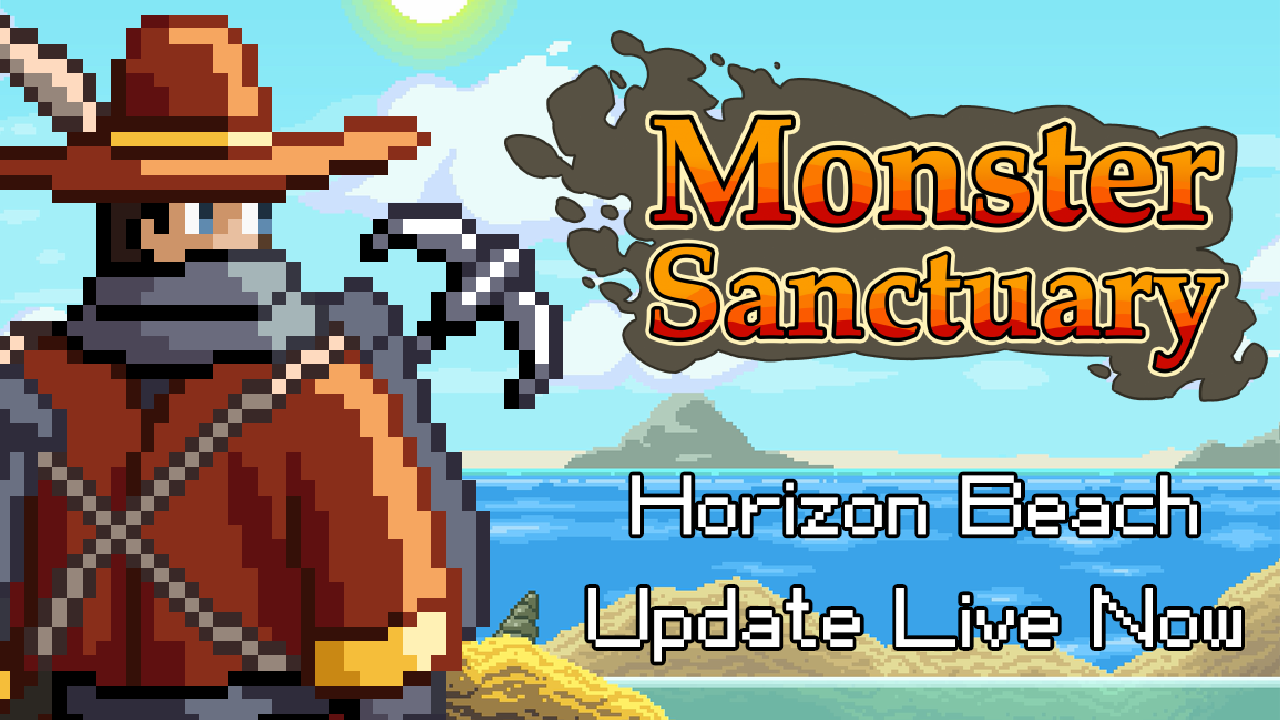 Monster Sanctuary Horizon Beach Update Live Now!