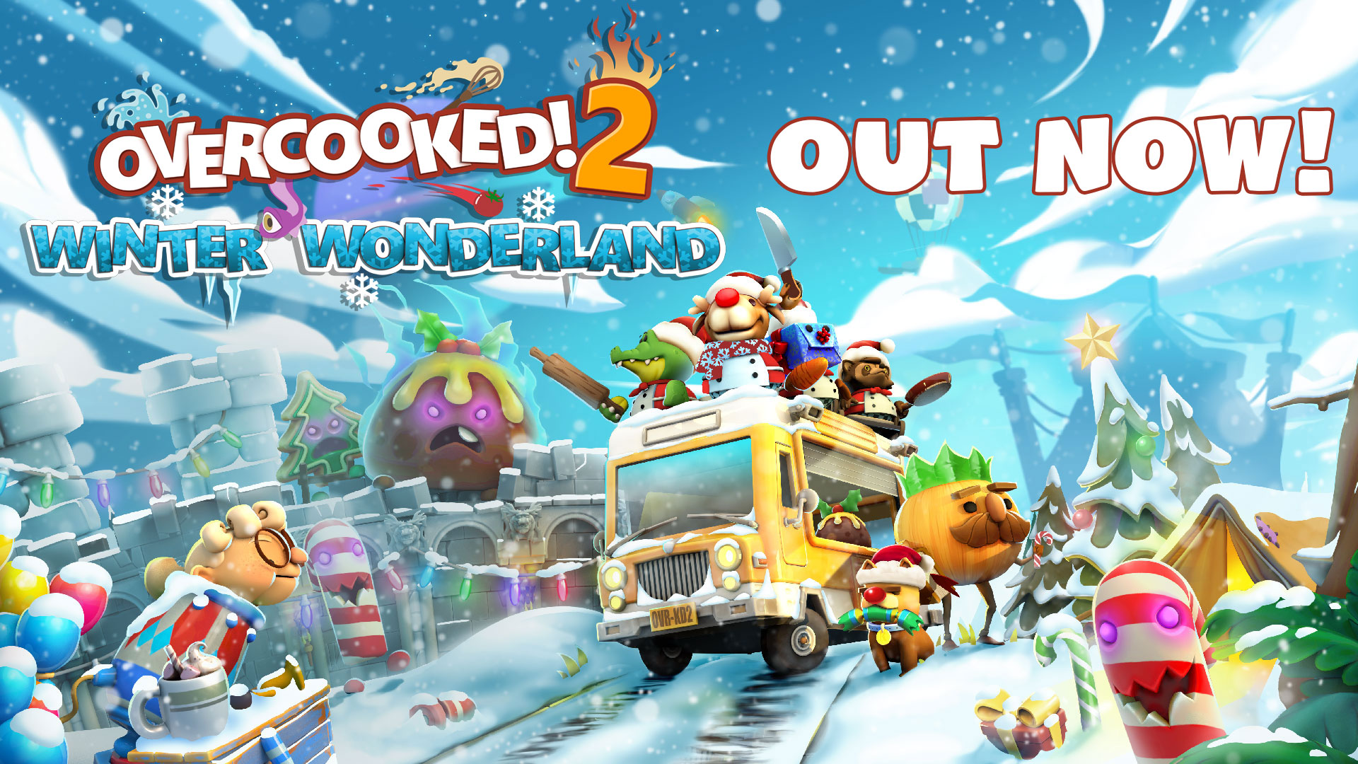 Overcooked! 2 – Winter Wonderland Update Out Now!