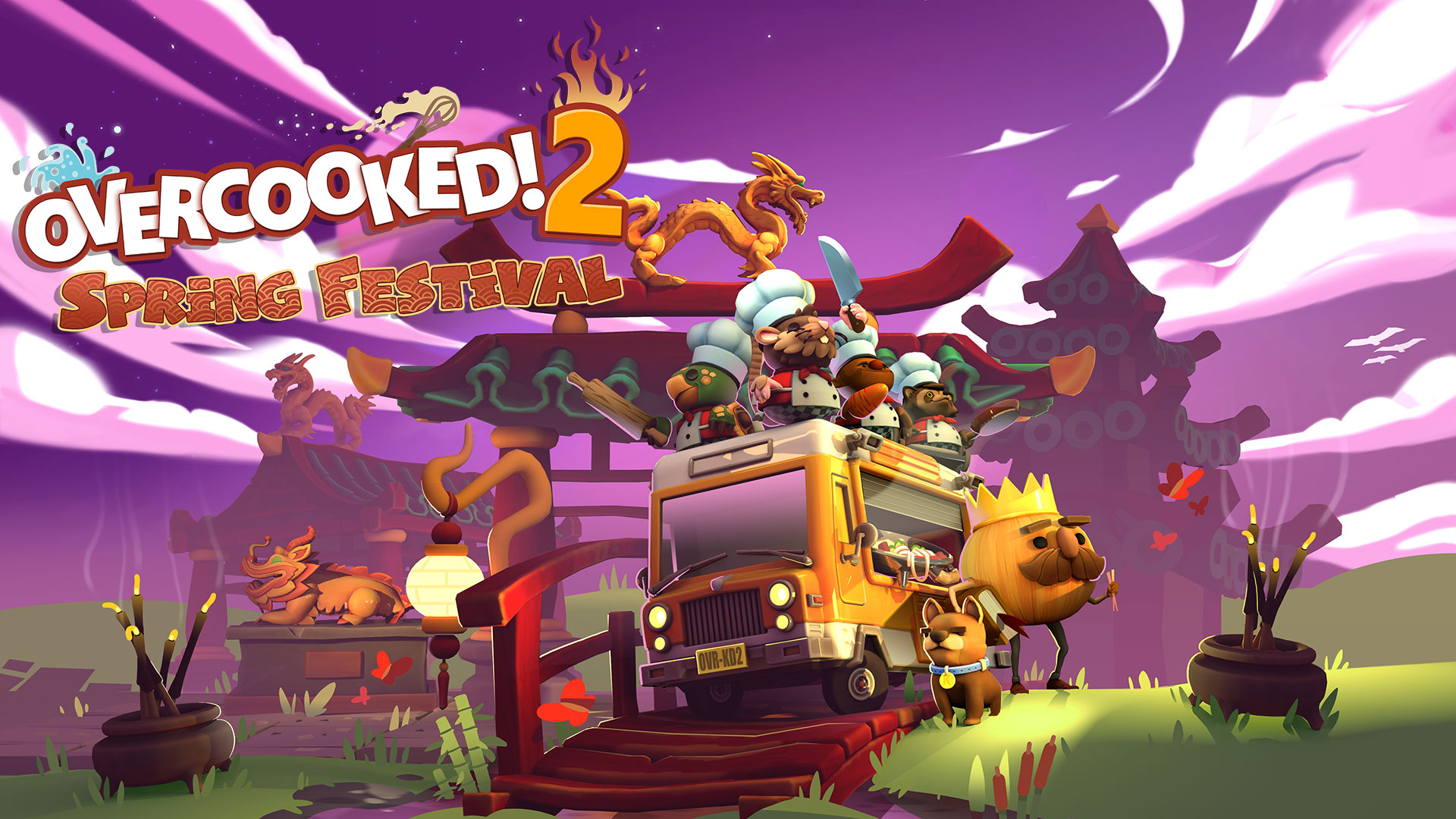 Overcooked 2 – Spring Festival Update Out Now!