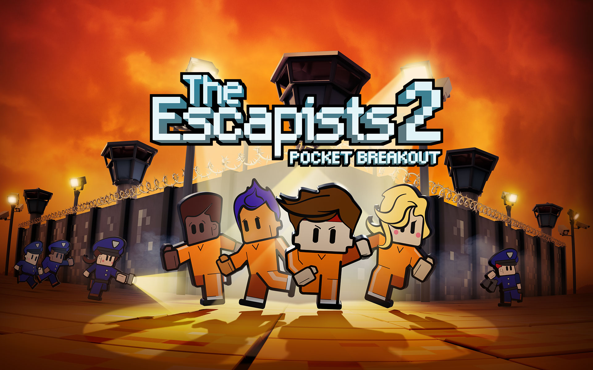 FREE UPDATE ALERT! Fort Tundra Prison Has Landed in The Escapists 2: Pocket Breakout!