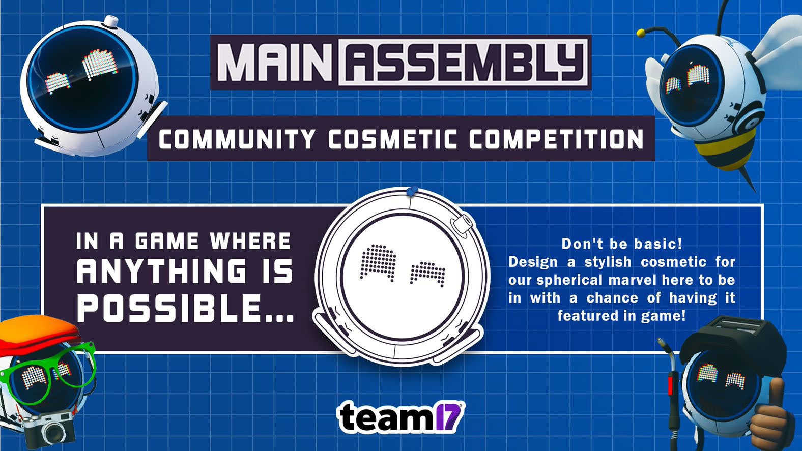 Main Assembly Community Cosmetic Competition!