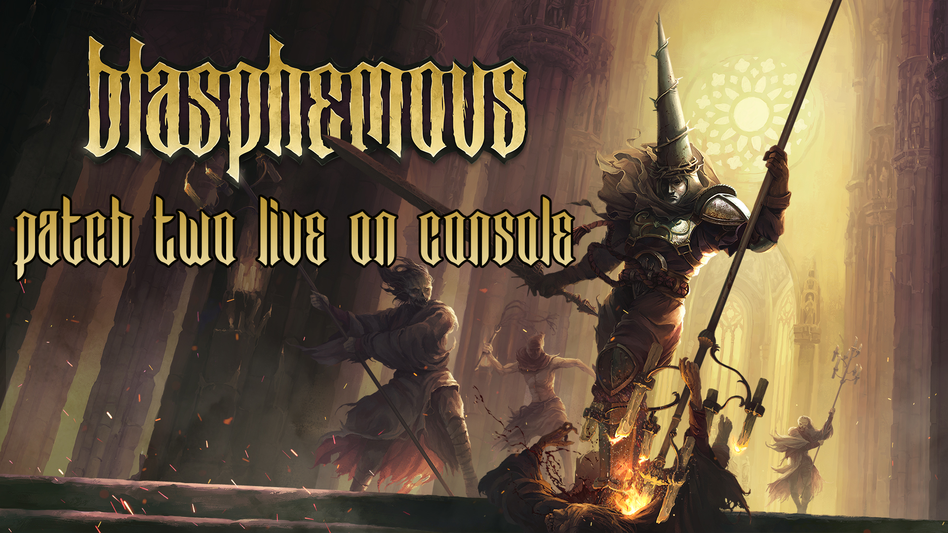 Blasphemous – Patch 2 Live Now on Nintendo Switch, PlayStation 4 and Xbox One!