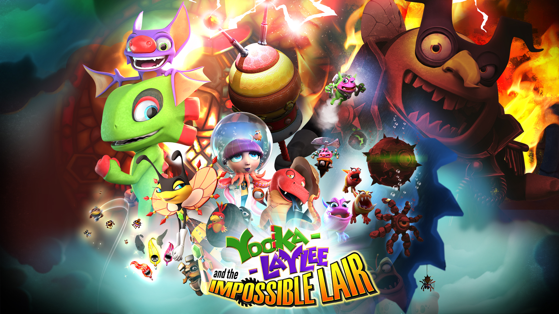 Yooka-Laylee and the Impossible Lair Update Out Today & Original Yooka-Laylee Update Soon!