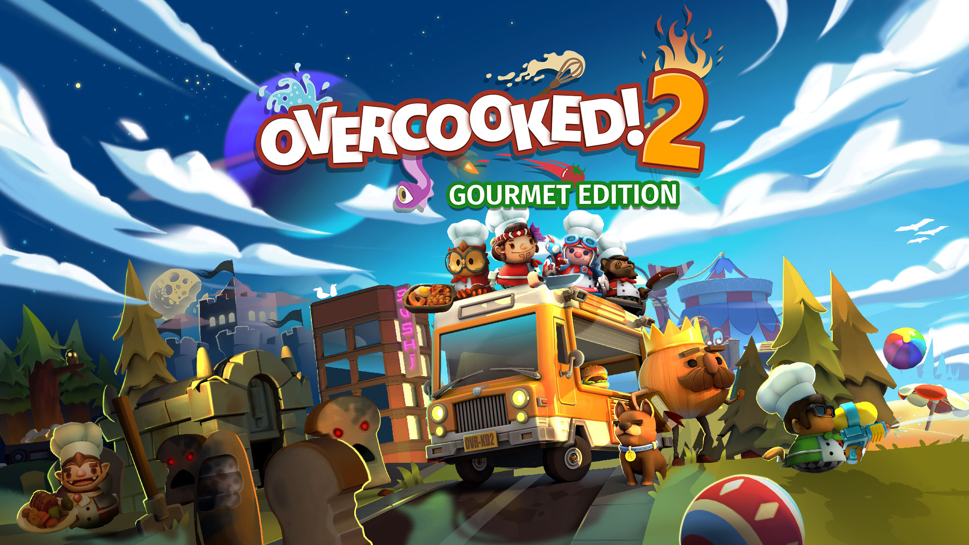 Introducing – Overcooked! 2: Gourmet Edition!