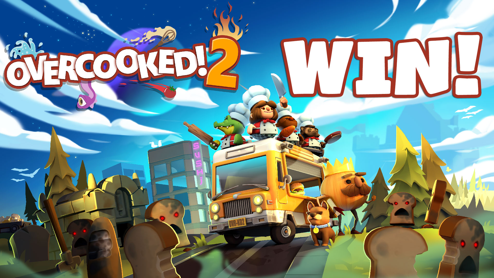 Overcooked! 2: Hat-A-Twoey Instagram Competition!
