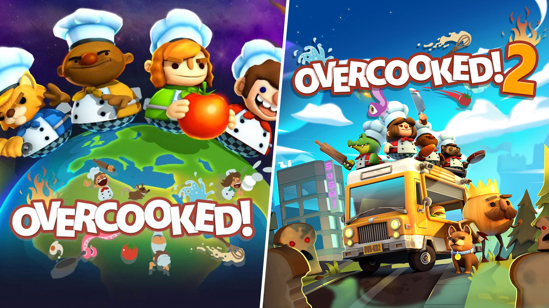FREE DLC, Gourmet Edition Steam launch, PLUS savings on Overcooked! and Overcooked! 2