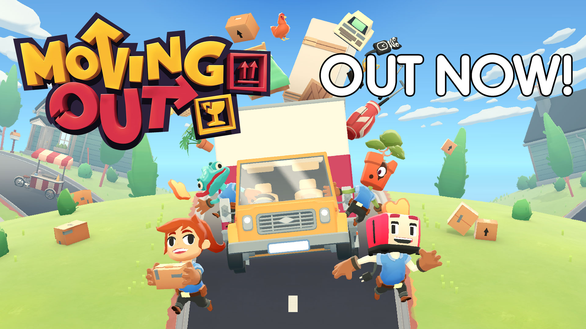 Moving Out – Available Now on Nintendo Switch, PS4, Xbox One & Steam!