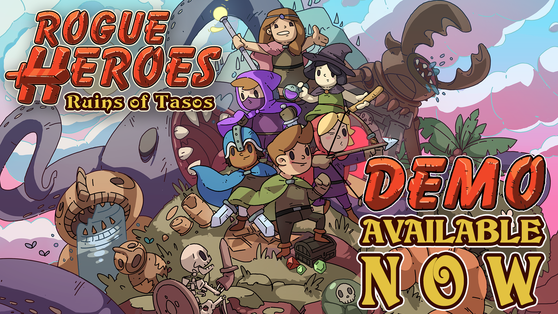 Rogue Heroes: Ruins of Tasos – Free Steam Demo Available Now!