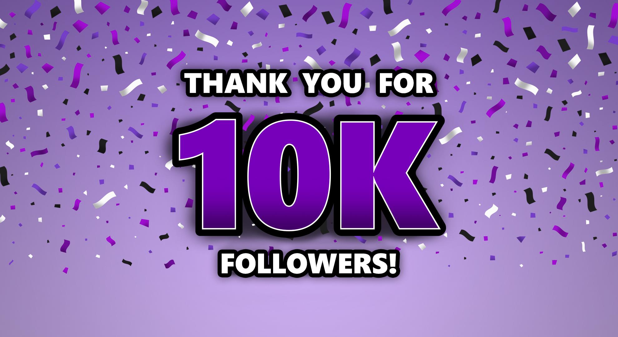 10K Instagram Followers Giveaway!