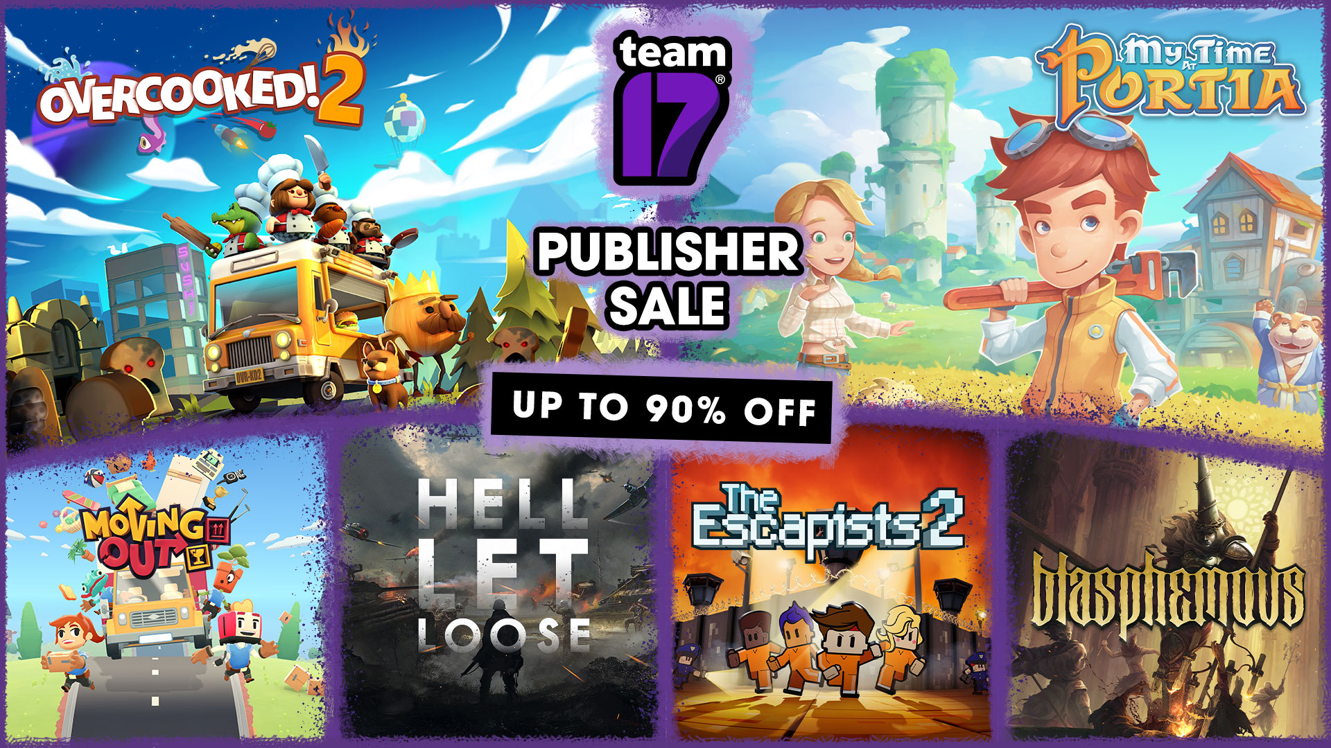 Save up to 90% in our Steam Publisher Sale!