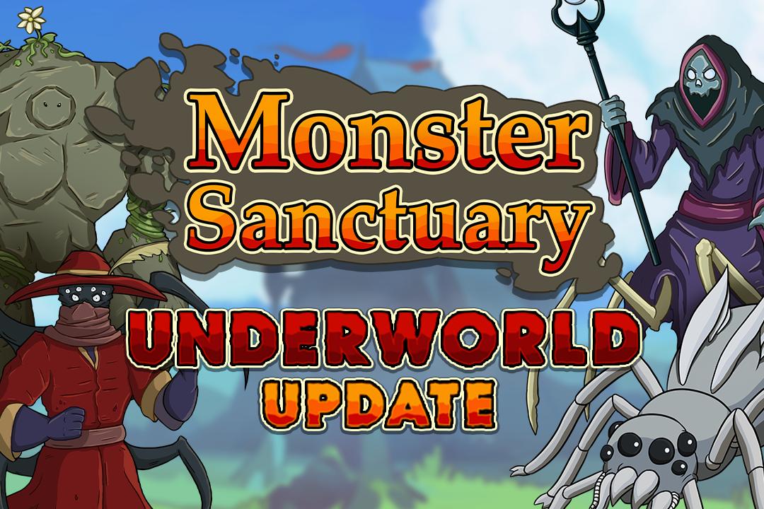Monster Sanctuary Content Update – Underworld