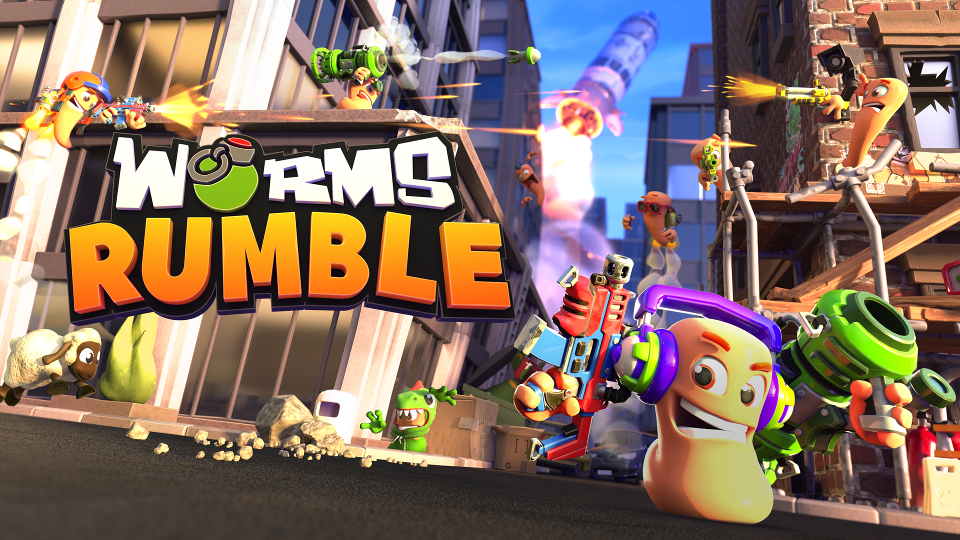 Introducing Worms Rumble!