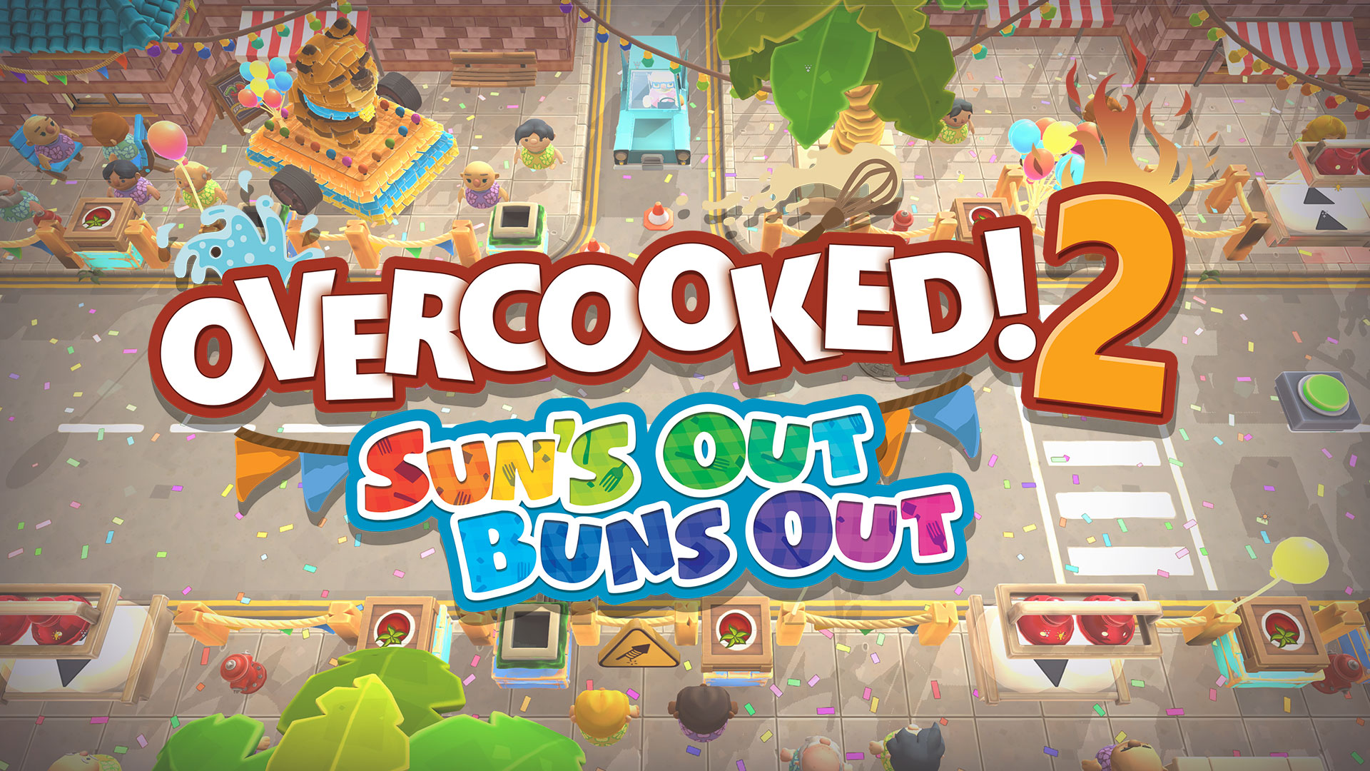 Introducing: Overcooked! 2 – Sun's Out, Buns Out!
