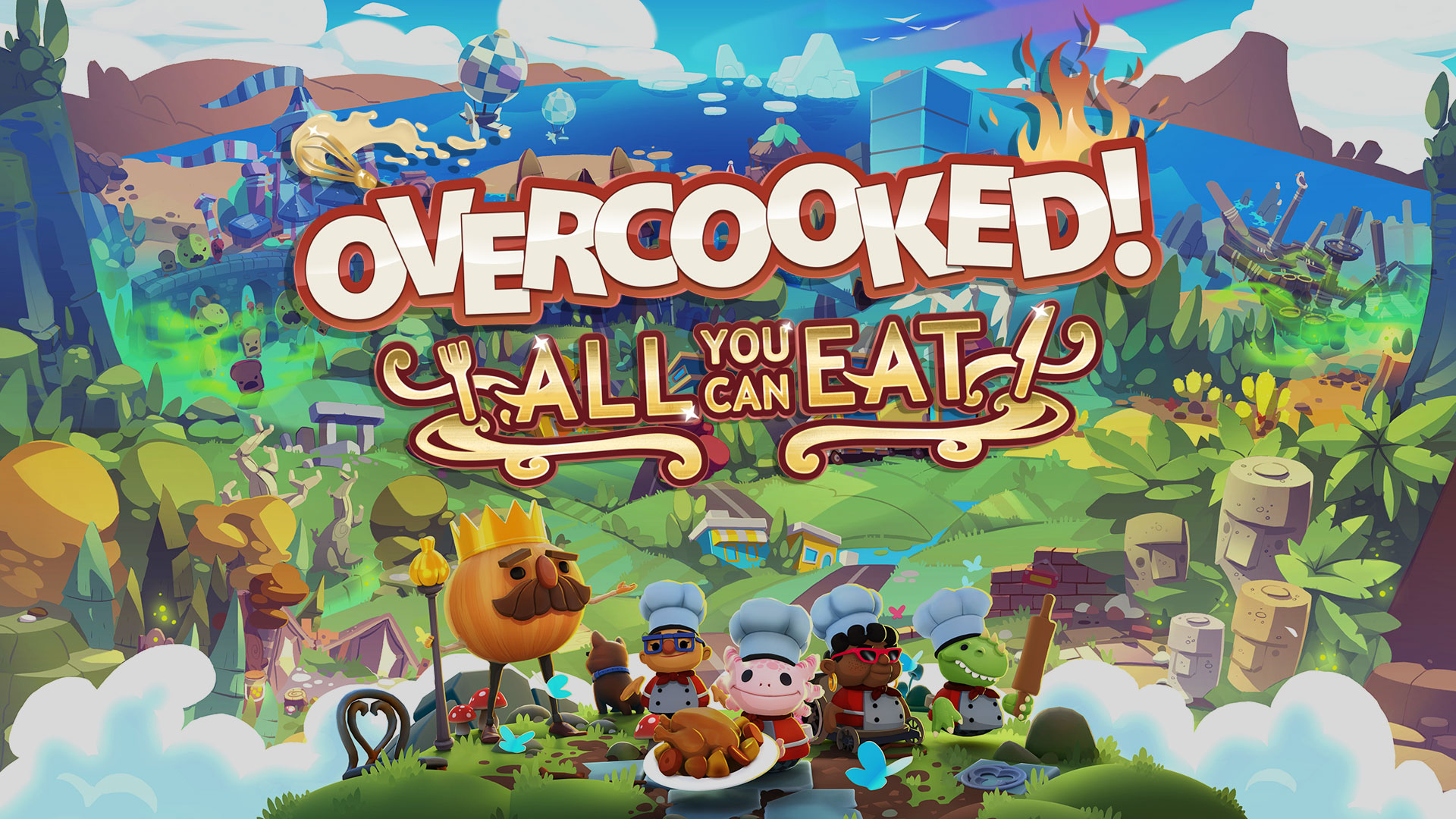 Introducing: Overcooked! All You Can Eat | Team17 Group PLC