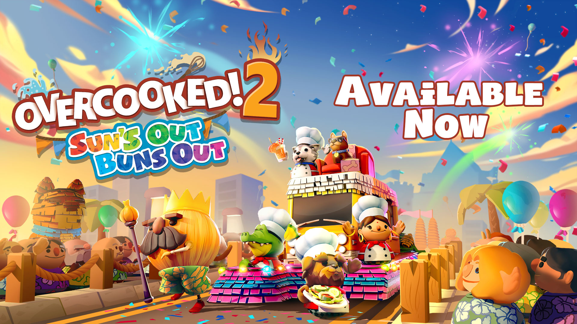 Overcooked! 2: Suns Out, Buns Out Update – Available Now!