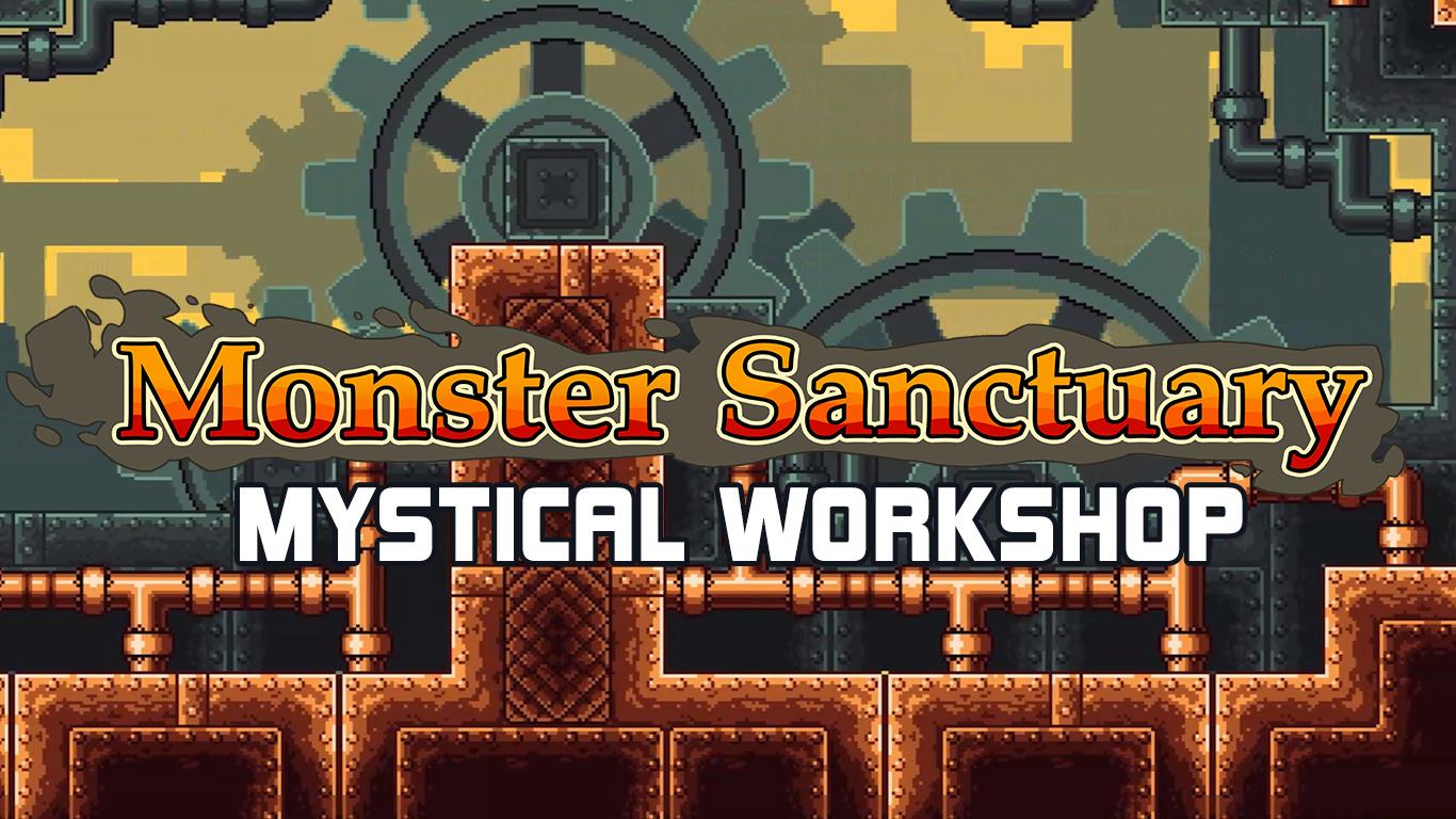 Monster Sanctuary Mystical Workshop – Update #6