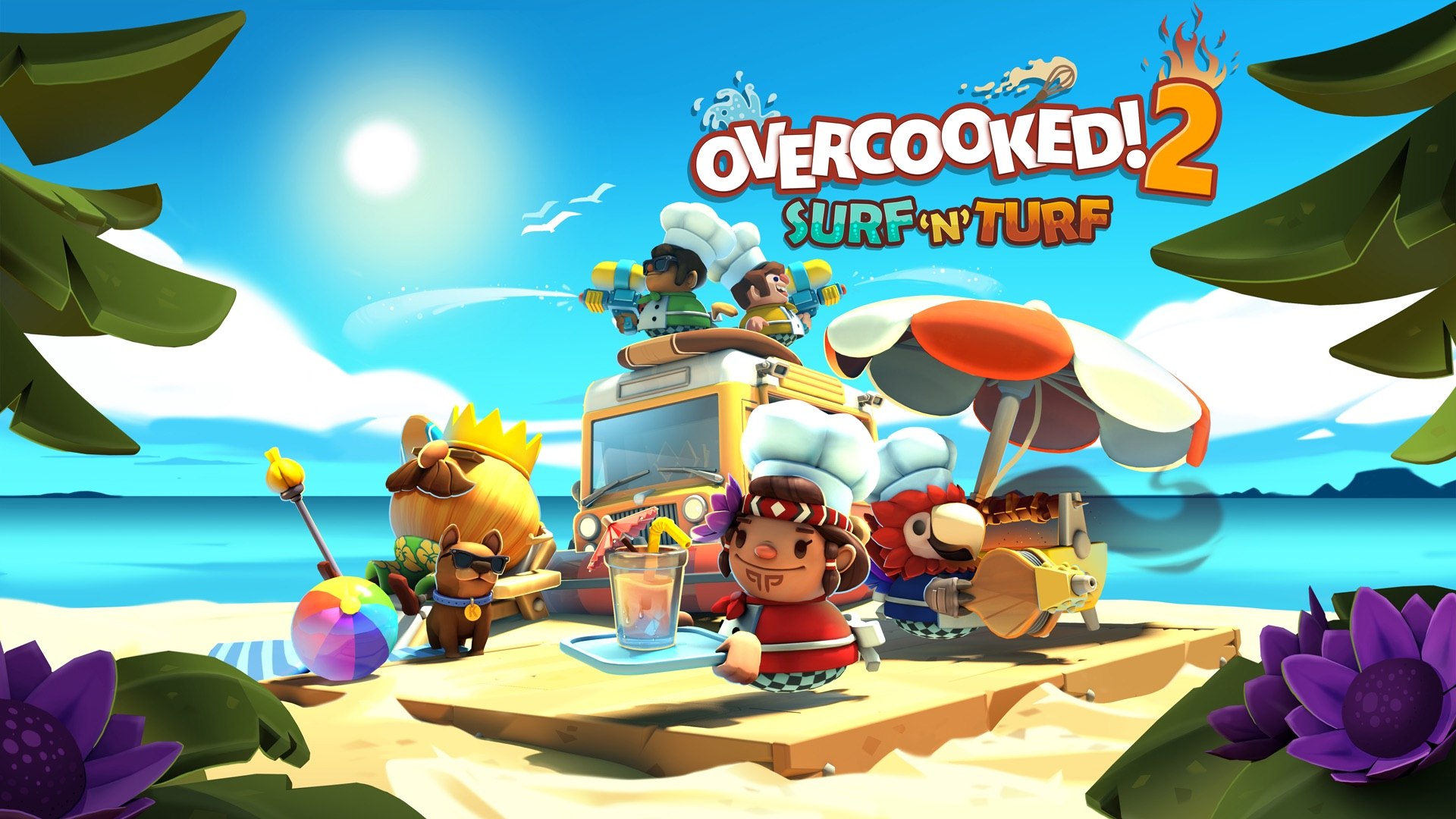 Overcooked! 2 Surf 'n' Turf DLC Free for Xbox Game Pass Ultimate members!