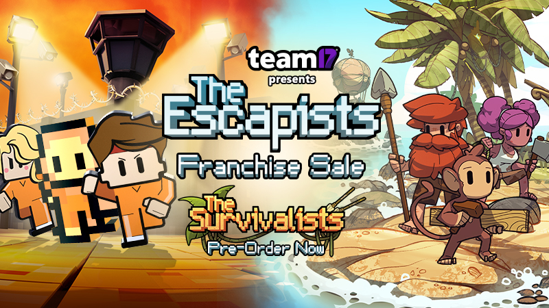 Up to 75% off in The Escapists Franchise Sale on Steam!