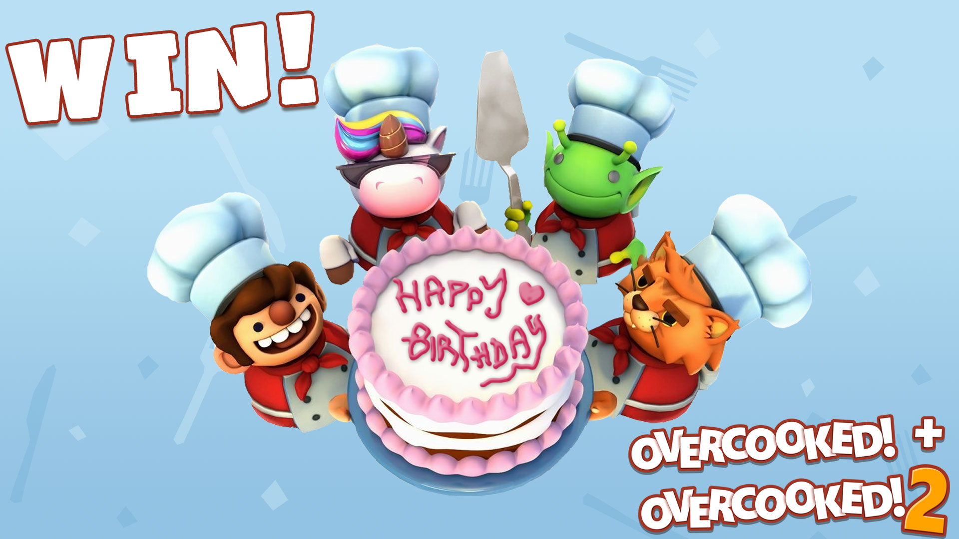 Overcooked Anniversary Competition!