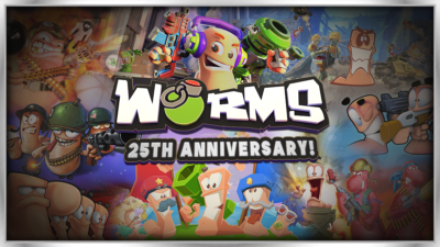 Worms 25th – Twitter Post