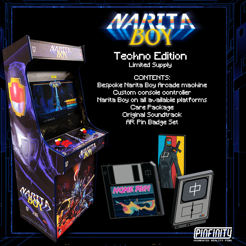 Arcade machine - Techno Edition