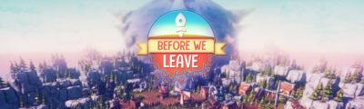 Before We Leave – Website Banner